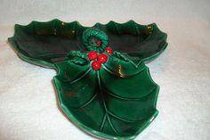 1950s-60s Vintage Christmas Lefton Ceramic Christmas Tableware Dinnerware   eBay