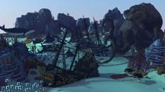 The Kraken's Lair Minecraft Project