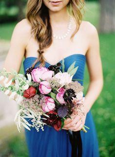 #weddingbouquet #bouquet #bridesmaiddress