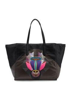 Liebeskind Berlin Toyota Leather Tote Bag Women's Black