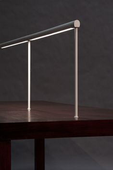 LED Desk Lamps, Floor Lamps, Undercabinet Lights and More by Koncept Lounge Lighting, Linear Lighting, Cool Lighting, Interior Lighting, Lighting Design, Led Desk Lamp, Table Lamp, House Lamp, Contemporary Light Fixtures