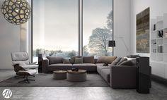 Home Designing — (via Lovely Living Rooms for a Design Loving Life)