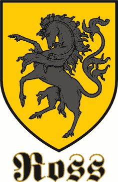 ross Family Crests And Shields | Ross [Germany] coat of arms, Ross [Germany] family crest, Ross ...