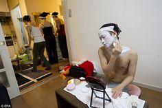Japan's only male Geisha