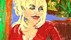 New party member! Tags: animation laughing queen painting stop motion country music dolly parton dolly oil paint lauren gregory