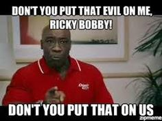 In memory of Michael Clarke Duncan, here is the funniest line from him. Haha Funny, Hilarious, Funny Shit, Funny Stuff, Funny Movies, Great Movies, Talladega Nights Quotes, Ricky Bobby, Human Soul