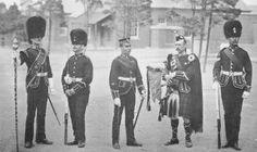 Royal Scots Fusiliers at Aldershot. (1896)