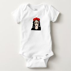 Day of the Dead Baby Onesie - Halloween happyhalloween festival party holiday