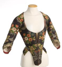 Front of bodice. 1700's (1780's?)