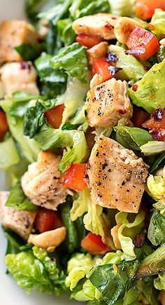 Kung Pao Chicken Chopped Salad