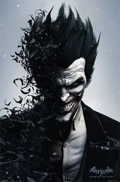 Batman Arkham Origins - Joker - Official Poster                                                                                                                                                                                 Más