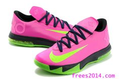 best service 79cd6 c79b5 Nike Zoom KD 6 Pink Green Black cheap nike shoes off at org