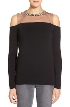 Bailey 44 'Cynthia' Embellished Top available at #Nordstrom