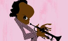 Miles Davis by Jorge Arevalo.    Portraits of Cultural Icons by 80 of the World's Top Illustrators | Brain Pickings