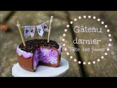 how to: miniature Father's Day cake