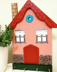 Ahşap boyama anahtarlık / Wood painting key holder. #ahsapboyama #anahtarlık #ev #handmade #woodpainting #home #decorative #keyholder
