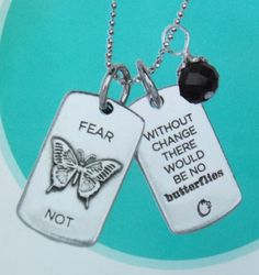 Fear Not Tag from Origami Owl. www.fb.com/SusanSellsorigamiOwl