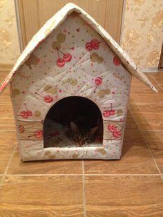 Домик для кота / Фотофорум / Burdastyle