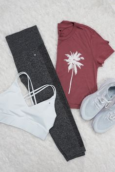 Cute Workout Outfits, Cute Comfy Outfits, Sporty Outfits, Athletic Outfits, Athletic Wear, Pretty Outfits, Fall Outfits, Summer Outfits, Fashion Outfits