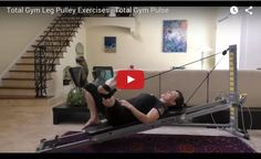 Total Gym's Leg Pulley System allows dynamic Pilates and yoga exercises. We've added a simple and quick workout to help sculpt your legs today.