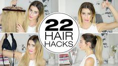 22 Hair Hacks For Thick Hair!