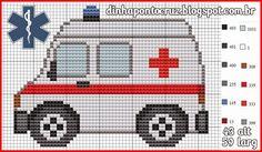 Ambulance pattern by Dinha Ponto Cruz