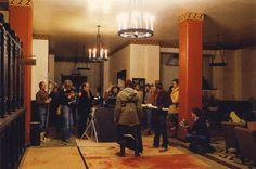En images : les photos du tournage de Shining