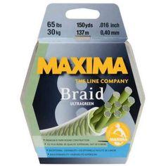 Maxima Braid 8 Fishing Line, 300-Yard Spool
