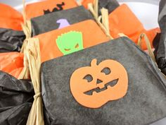 Halloween Party Favor  10 Custom Wrapped Soap by SymbolicImports, $30.00