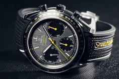 BaselWorld Speedmaster Racing by Omega Dream Watches, Luxury Watches, Cool Watches, Watches For Men, Men's Watches, Omega Speedmaster Co Axial, Omega Co Axial, Gents Wear, Watch Photo