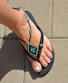 Sandalias bohemio Hippie sandalias sandalias de las mujeres | Etsy