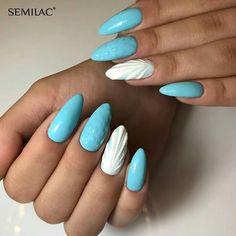 Mermaid Nails, Manicure, Nail Art, Pink, Beauty, Ocean, Blue, Nail Bar, Nails