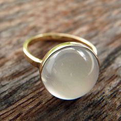 Maria Burgos Midwinter Magic Moonstone Ring | 2013 Gift Guide: Winter Wonderland | Organic Spa Magazine