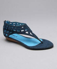Take a look at this Blue Orleans 09 Sandal by Spring Soles: Women's Shoes on #zulily today!