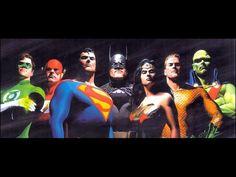 ✭ Justice League by Alex Ross