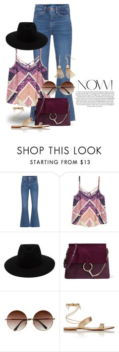 """""""Jun 15th (tfp) 1656"""" by boxthoughts ❤ liked on Polyvore featuring M.i.h Jeans, rag & bone, Chloé, Gianvito Rossi, LC Lauren Conrad and tfp"""
