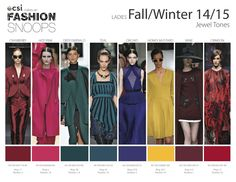 Fall Fashion Colors 2014 | TRENDS // FASHION SNOOPS . COLORS A/W 2014-15