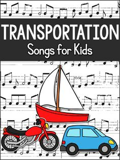 Transportation songs for kids in preschool, pre-k, kindergarten - prekinders Transportation Preschool Activities, Transportation Theme Preschool, Preschool Music, Music Activities, Toddler Activities, Las Vegas, Music And Movement, Dads, Kids Songs