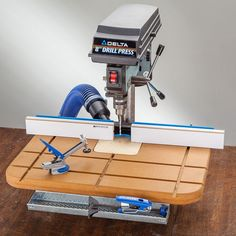 Rockler Drill Press Fence Rockler Drill Press Fence<br> A full-featured, fully adjustable fence for your drill press—includes instructions to build your own drill press table! Woodworking Drill Press, Rockler Woodworking, Woodworking Skills, Woodworking Projects, Hobbies For Women, Hobbies That Make Money, Great Hobbies, Drill Press Stand, Drill Press Table