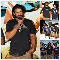 #Prabhas Launches Basanthi Song teaser on Baahubali Sets