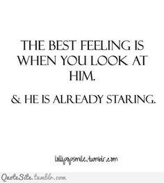 Reminds me soooo much of someone. That's probably why I was so crazy about him, loved thinking that he just enjoyed looking at me in admiration.