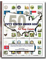 A History/Geography curriculum that teaches facts on the fifty states as they became a state..Have your child learn them in order, as well as fascinating facts!!