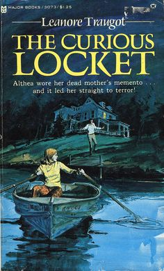 Leanore Traugot: The Curious Locket Best Mysteries, Cozy Mysteries, Vintage Book Covers, Vintage Books, Gothic Books, Pin Up, Books For Teens, Teen Books, Children's Books