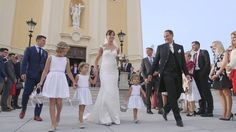 For Gabriele and Christian, their wedding day is a dedication of their family to God, a celebration of two families coming together and enjoying the time with their… Bridesmaid Dresses, Wedding Dresses, Teaser, Conference, Wedding Day, Christian, Celebrities, Fashion, Bride Maid Dresses