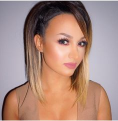 Hair!!!!!!!! This is def my hair goal. #aline #ombre