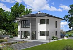 Article & Content Page Two Story House Design, Modern Bungalow House, Modern Architects, New Home Construction, Dream House Exterior, Affordable Housing, Dream Home Design, Sustainable Architecture, Types Of Houses