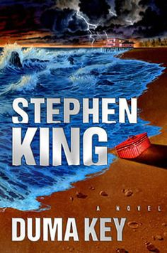 """Duma Key, by Stephen King. """"This book is the exact right combination of thrills and chills, and (strangely) one of the funniest scenes I've ever read! Leave it to Stephen King to take you on a wild and spooky ride that you'll never forget. Stephen King It, Stephen King Novels, Steven King, King Richard, John Slattery, I Love Books, Great Books, Big Books, Amazing Books"""