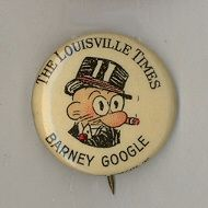 Barney Google Comic Strip Pinbacks