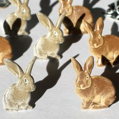 *NEW* Eyelet Outlet Brown Bunny Brads