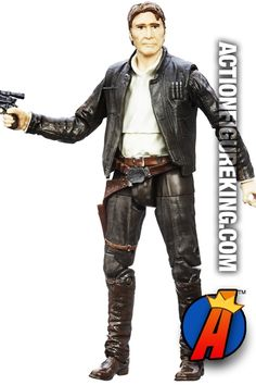 #STARWARS 6-inch scale #HANSOLO The Force Awakens #AactionFigure. Easily search thousands of new and vintage #collectibles #Toys and #ActionFigures here… http://actionfigureking.com/list-3/hasbro/505-hasbro-star-wars-toys-and-action-figures/star-wars-black-series-han-solo-the-force-awakens-action-figure